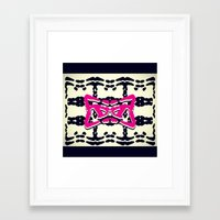 dj Framed Art Prints featuring DJ by Devin Stout