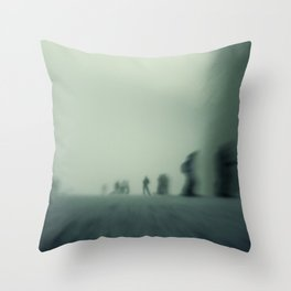 winter state of mind Throw Pillow