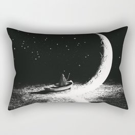 Arrival At Moonlight Rectangular Pillow