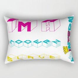MODERN SLAVE #intern Rectangular Pillow
