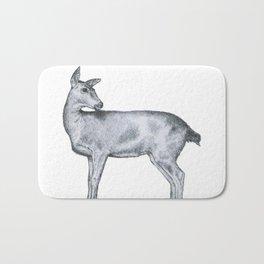 Startled Deer Bath Mat