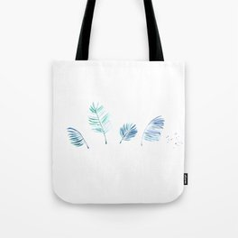 Cold Tropical Tote Bag