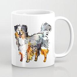 Hans - Dog Watercolour Coffee Mug