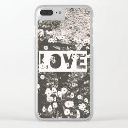 love VII Clear iPhone Case