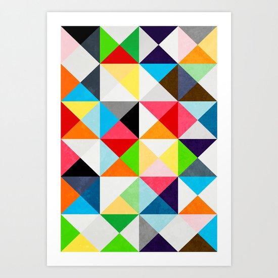 Geometric Morning Art Print