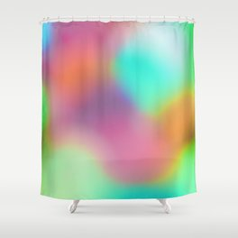 Watercolor VI Shower Curtain