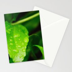 Catching raindrops Stationery Cards
