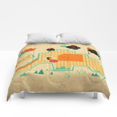 Elephant Playground Comforters