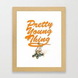 P.Y.T Framed Art Print