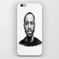 jay fleck iPhone & iPod Skins featuring Jay-Jay by Jay Golding