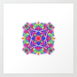 Movement Mandala Art Print