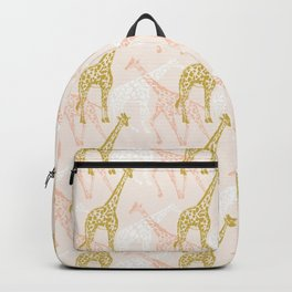 A Movement of Giraffes Backpack