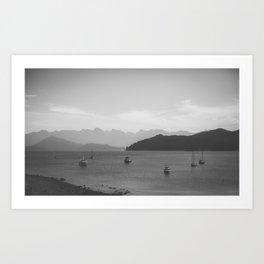 Sight of the Shore Art Print