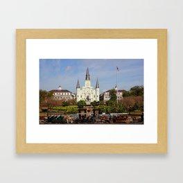 Jackson Square - New Orleans Framed Art Print