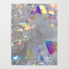 Aurora Borealis Crystals Poster