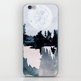 the art of silence I iPhone Skin