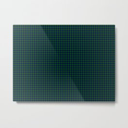 Johnston Tartan Metal Print