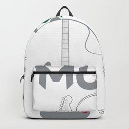 Acoustic Guitar Musician  Design for a Instrumentalist Backpack