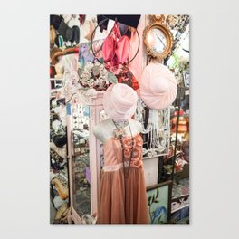 Pink Hat Canvas Print