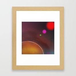 The Galaxy Line Up Framed Art Print