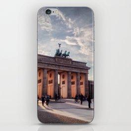 Brandenburg Gate in the Evening iPhone Skin