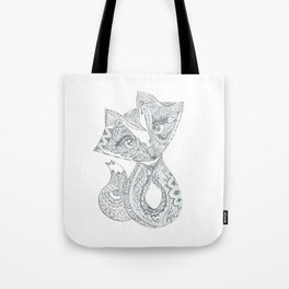 Foxy Fox Tote Bag