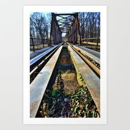Bridge 6 Art Print