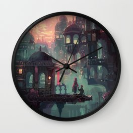 Can We Stay in My World for Just One More Minute? Wall Clock