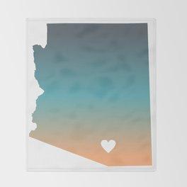 Arizona - Tucson Throw Blanket