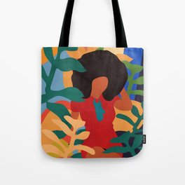 Get lost in nature and you will find yourself  #art print #abstract art Tote Bag