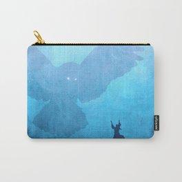 Owl Summoner: Blue Haze Carry-All Pouch