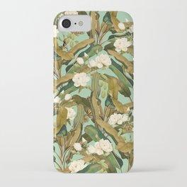 Tropical Jungle iPhone Case