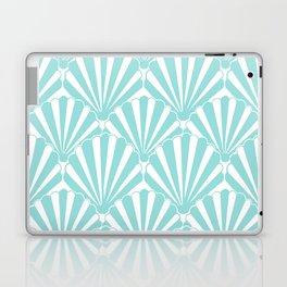 Sea shell Blue Laptop & iPad Skin