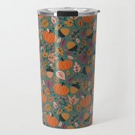 Fall Pumpkin Field Travel Mug