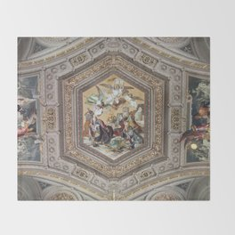 Vatican V, Rome Throw Blanket