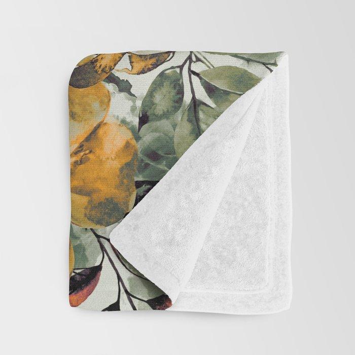 RPE FLORAL Throw Blanket