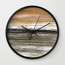 Shadow abstract watercolor Wall Clock