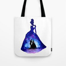 Cinderella Double Exposure - Dancing Tote Bag
