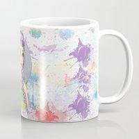 princess Mugs featuring Princess by Lagoonartastic