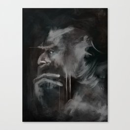 Thinker Canvas Print