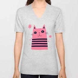 Dreaming Kitty Unisex V-Neck