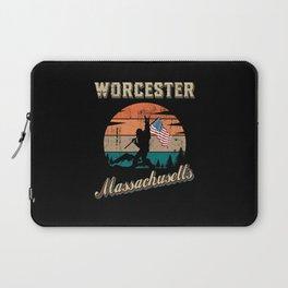 Worcester Massachusetts Laptop Sleeve