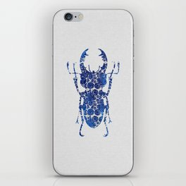 Blue Beetle III iPhone Skin