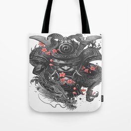 Sleeve tattoo Samurai Irezumi Tote Bag