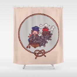 EINHORN Shower Curtain