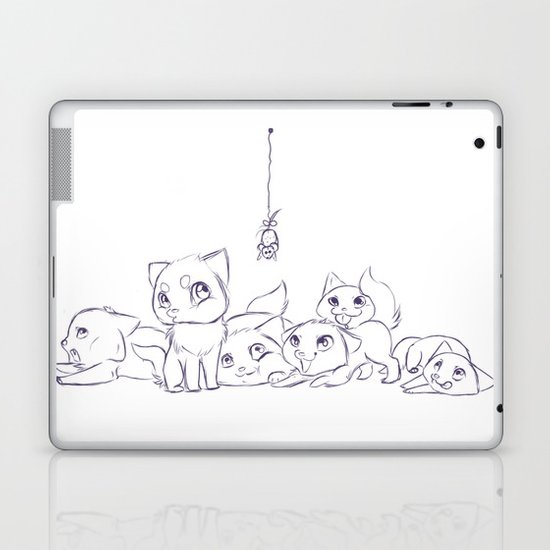 Cat's Laptop & iPad Skin
