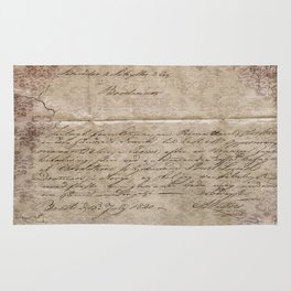 July 1820 Rug