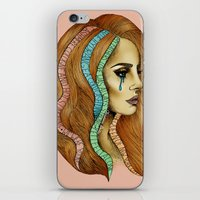 ultraviolence iPhone & iPod Skins featuring Ultraviolence by Christina Dedic