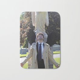 Eyes Toward Heaven Castiel Bath Mat