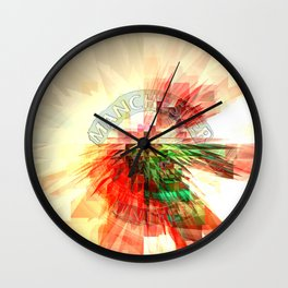 man united Wall Clock